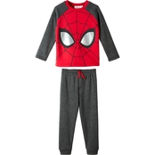 Marvel Little Boys Fleece Jogger Set Spider-Man