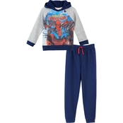 Marvel Little Boys Subliminal Fleece Jogger Set Spider-Man