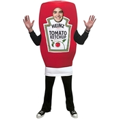 Rasta Imposta Men's Heinz Ketchup Squeeze Bottle Costume