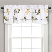 Lush Decor Rowley Birds Room Darkening 52 x 18 in.