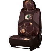 Mossy Oak Oval Microfiber Low Back 2.0 Seat Cover