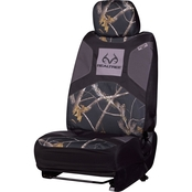 Realtree Antler Damask Microfiber Low Back 2.0 Seat Cover