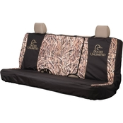 Browning Ducks Unlimited Stacked Logo Full Size Bench Seat Cover
