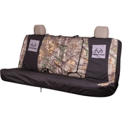 Realtree Antler Damask Full Size Bench Seat Cover