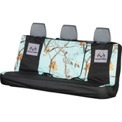 Browning Realtree Antler Damask Microfiber Full Size Bench Seat Cover