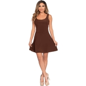 Leg Avenue Women's Basic Skater Dress Costume
