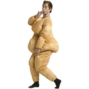 Fun World Men's Fat Suit Costume