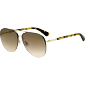 Kate Spade Jakaylas Rimless Aviator Sunglasses 0086HA