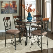 Signature Design by Ashley Glambrey 5 pc. Counter Height Dining Set