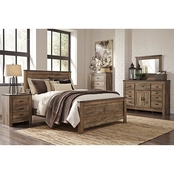 Trinell Panel Bed 5 Pc. Set
