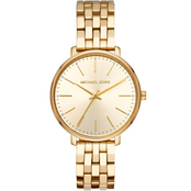 Michael Kors Women's Pyper 3 Hand Stainless Steel Watch