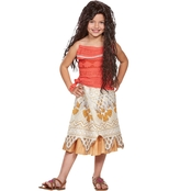 Disguise Ltd. Little Girls / Girls Disney Princess Moana Classic Costume