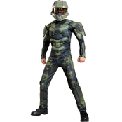 Disguise Ltd. Boys Halo Master Chief Muscle Costume