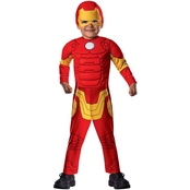 Rubie's Costume Toddler Boys Avengers Assemble Iron Man Costume, S (2T- 4T)