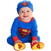 Rubie's Costume Infant Boys Superman Onesie Costume,  6-12 Months