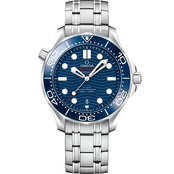 Omega Men's Seamaster 300m Diver's  Stainless Steel 42mm Watch O210304220030
