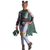 Rubie's Costume Girls Star Wars Classic Boba Fett Costume