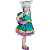Princess Paradise Little Girls Paw Patrol Everest Costume