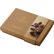 Godiva Nut and Caramel 15 pc. Box