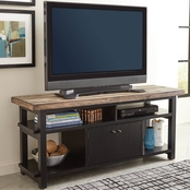 Scott Living Wylder Rustic Two-Tone TV Console