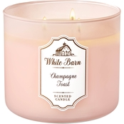 Bath & Body Works White Barn Champagne Toast Candle