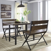Signature Design by Ashley Kavara 3 pc. Counter Dining Set
