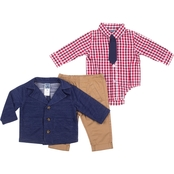 Little Lad Infant Boys 4 pc. French Terry Blazer Set