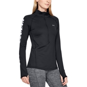 Under Armour Graphic 1/2 Zip Fitted Top