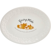Martha Stewart Collection Giving Plate