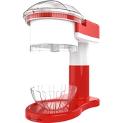 Classic Cuisine Shaved Ice Maker Snow Cone Electric Ice Shaver/Chipper