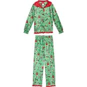 Girls Peanuts Holiday 2 pc. Pajama Set