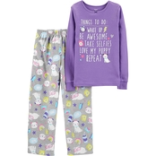 Carter's Little Girls Things To Do 2 pc. Pajama Set