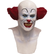 Ghoulish Men's Scary Clown Mask