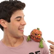 Ghoulish Pumpkin Shoulder Buddy