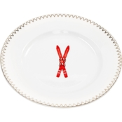 Martha Stewart Collection Ski Salad Plate