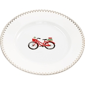 Martha Stewart Collection Bicycle Salad Plate