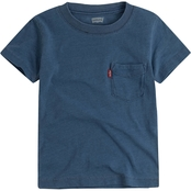 Levi's Boys Ombre Sunset Pocket Tee