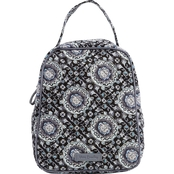 Vera Bradley Iconic Lunch Bunch, Charcoal Medallion