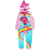 Trolls Little Girls Blanket Sleeper