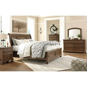 Signature Design by Ashley Flynnter 5 pc. Storage Bed Set