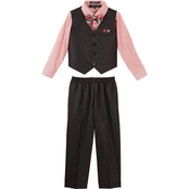 Andrew Fezza Little Boys 4 pc. Dressy Vest Set