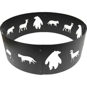 Bond Manufacturing 28 In. Wildlife Fire Ring