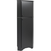 Elite Tall 2-Door Corner Storage Cabinet