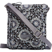 Vera Bradley Iconic Mini Hipster, Charcoal Medallion