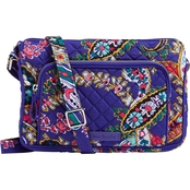 Vera Bradley Iconic RFID Little Hipster, Romantic Paisley
