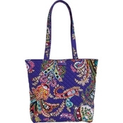 Vera Bradley Iconic Tote Bag, Romantic Paisley