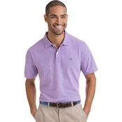 Vineyard Vines Stretch Pique Heather Polo Shirt