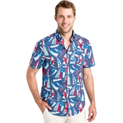 Vineyard Vines Spin Around Island Classic Murry Shirt