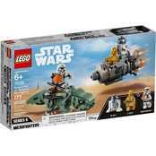 LEGO Star Wars Escape Pod vs. Dewback Microfighters