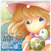 Precious Moments Live Each Day with Joy 2019 Calendar
